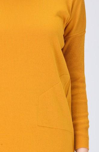 سترة أصفر خردل 0511-03