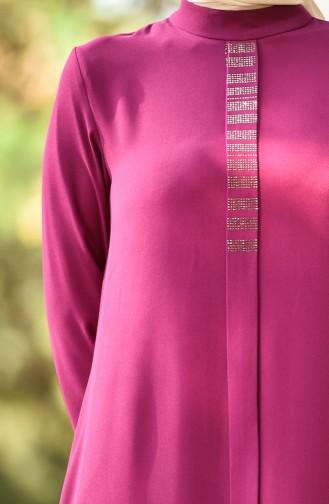 Fuchsia Hijap Kleider 8030-08