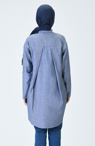Navy Blue Tuniek 6399-09