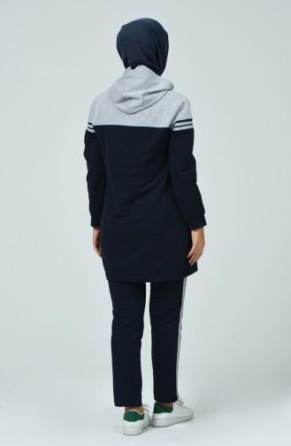 Navy Blue Sweatsuit 1056-03