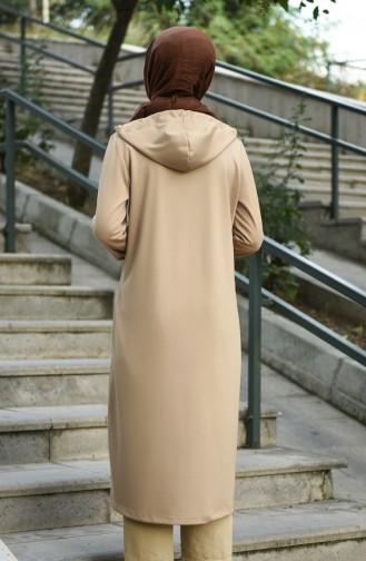 Beige Abayas 8060-01