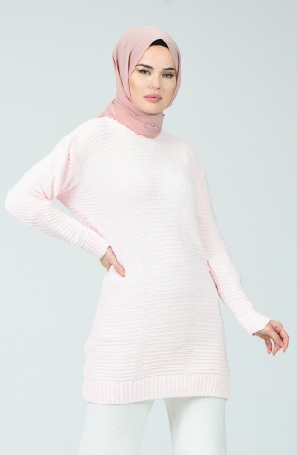 Pull Tricot 1930-10 Rose 1930-10