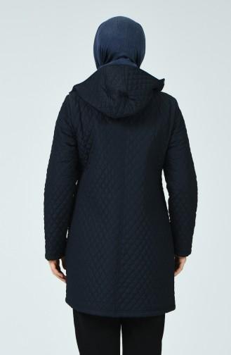 معطف أزرق كحلي 1062-04