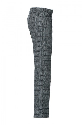 Büyük Beden Kışlık Pantolon 1015H-01 Gri