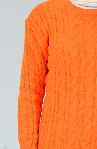 تونيك تريكو طويل برتقالي 1904-09