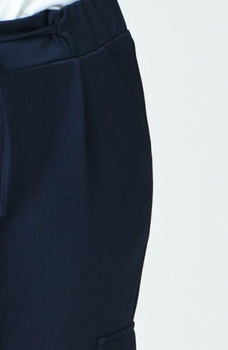 Navy Blue Pants 80128-04