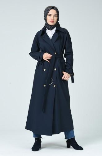 Dunkelblau Trench Coats Models 90004A-02
