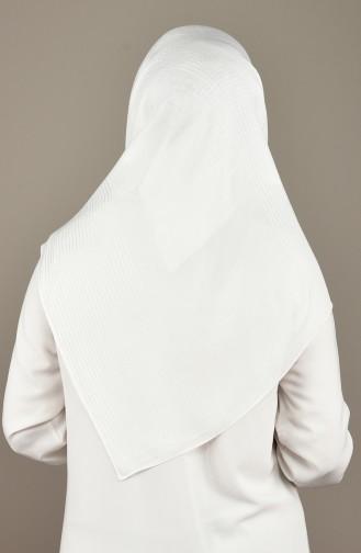 White Scarf 19-0011-02