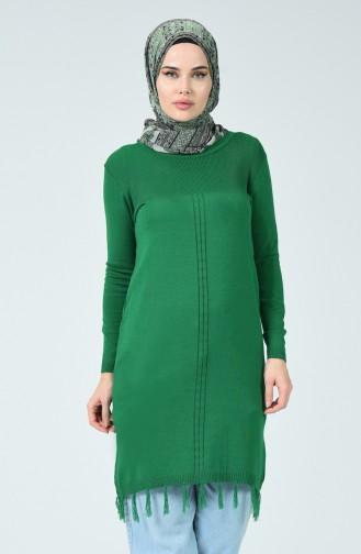 Grün Pullover 5056-01