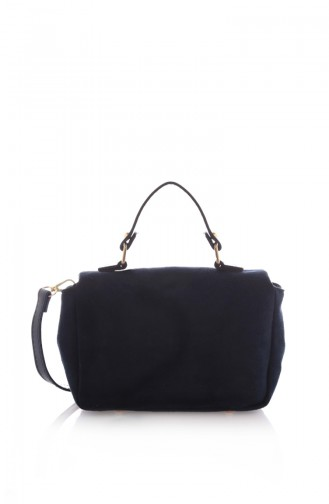 Navy Blue Shoulder Bag 37Z-04