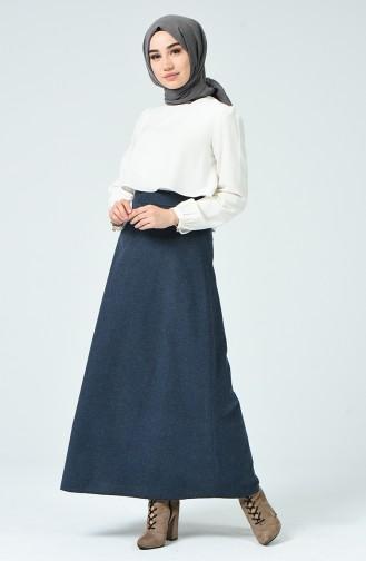 Navy Blue Skirt 6463-02