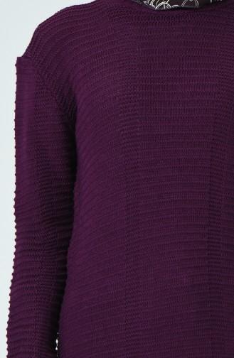 Tricot Sweater Purple 1930-04
