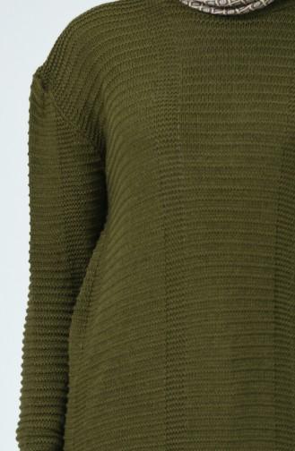 Tricot Sweater Khaki 1930-07