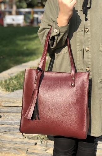 Claret red Shoulder Bag 01-05
