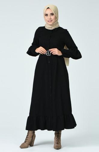 Black İslamitische Jurk 5019-04