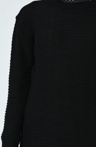 Tricot Sweater Black 1930-06