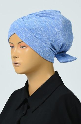 Bow Tie Tricot Bonnet Blue 0041-01