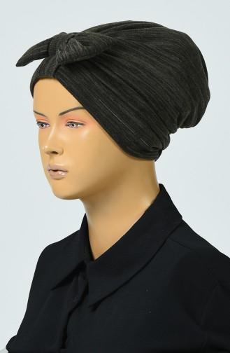Bonnet Tricot a Noeud 0041-06 Khaki 0041-06