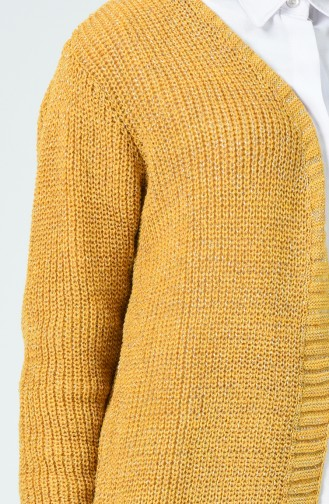 Gilet Tricot 1962-10 Moutarde 1962-10