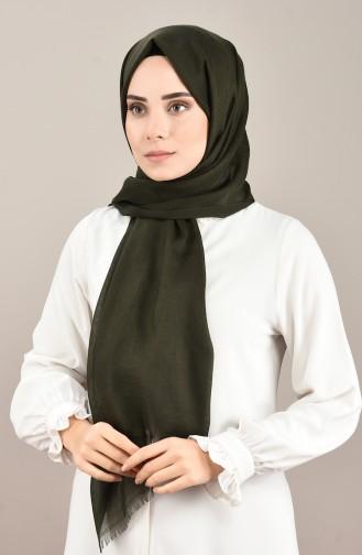 Jacquard Seasonal Shawl Khaki 901565-14