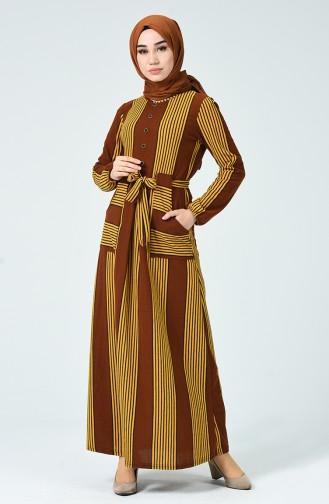 Robe Hivernal 1216-04 Brun 1216-04