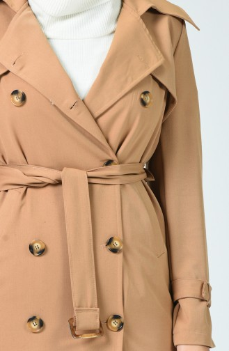 Camel Trench Coats Models 90006-04