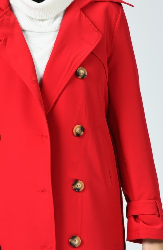 Red Trench Coats Models 90006-05