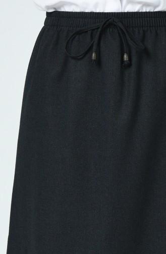تنورة أسود فاتح 1168ETK-01