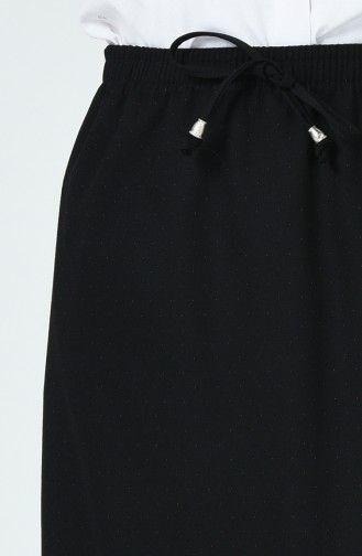Jupe élastique 1185ETK-01 Noir 1185ETK-01