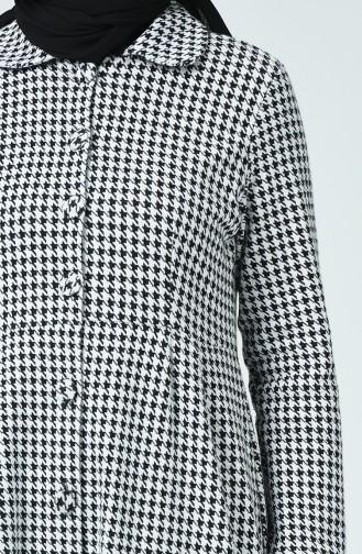 Buttoned Winter Cape Gray 1981B-01