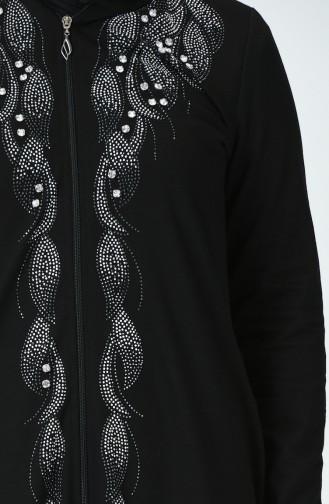 Abayas Noir 9673-01