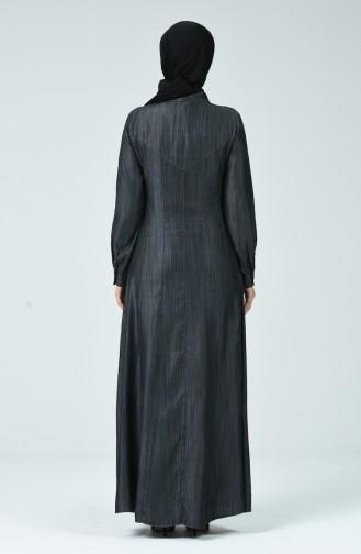 Abayas Gris 9175A-01