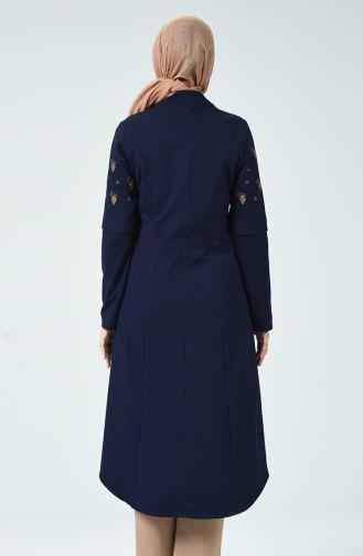 Navy Blue Mantel 3010-01