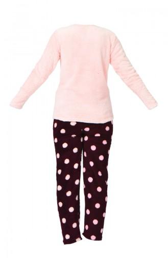 Claret red Pyjama 1501