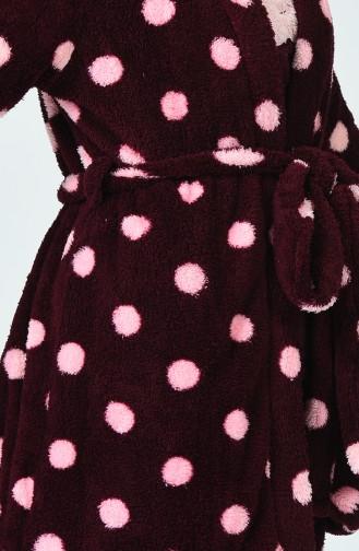 Claret red Pyjama 1502-01