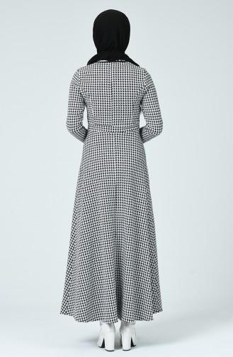 فستان أسود 7128C-01