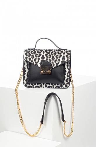 White Shoulder Bag 4011BL-01