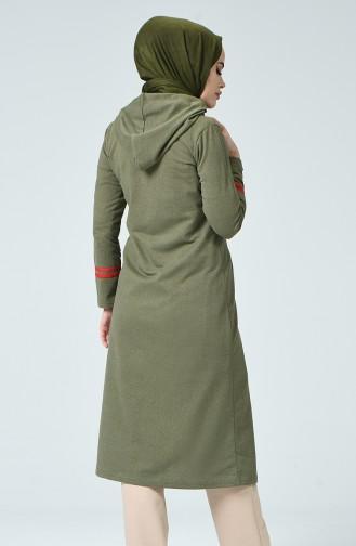 Khaki Abaya 1401-05