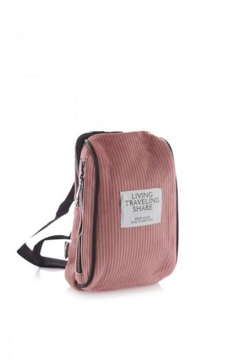 Stilgo Sac Velours Pour Femme CN70Z-02 Rose Pâle 70Z-02