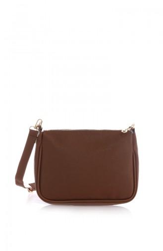 Tobacco Brown Shoulder Bag 09Z-05