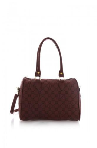 Claret red Shoulder Bag 40Z-03