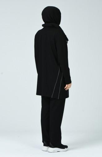 Black Sweatsuit 10024-01