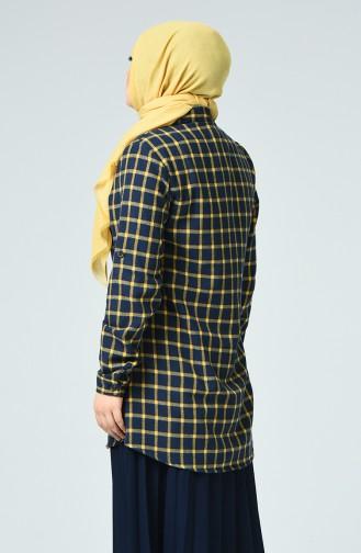 Mustard Overhemdblouse 1026-04