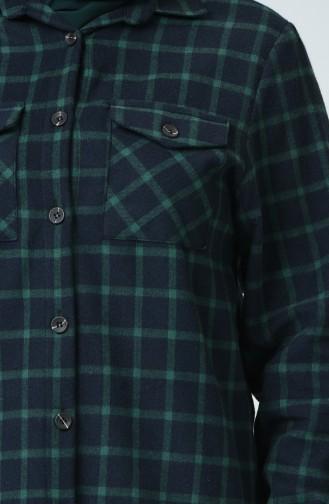 Green Overhemdblouse 1026-05