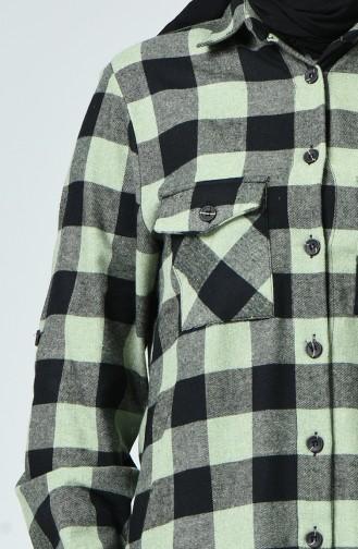 Black Overhemdblouse 1026A-02