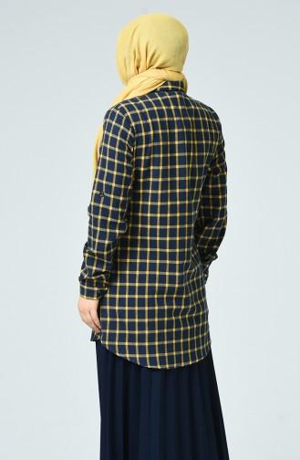 قميص أصفر خردل 1025A-05