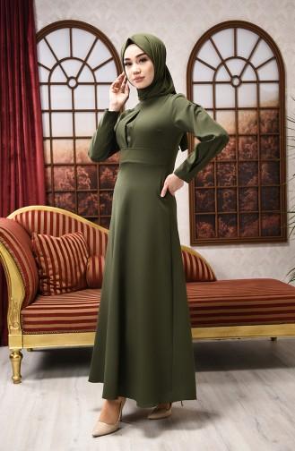 Khaki Dress 2704-05