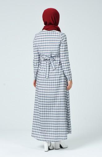 Robe Hijab Bleu Marine 1269-03
