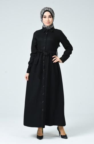 Black İslamitische Jurk 0895-04
