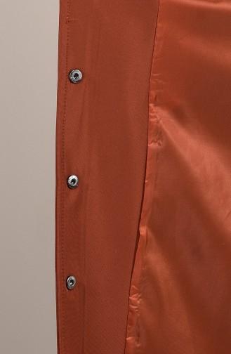 Trench Coat à Poche 0035-04 Brique 0035-04